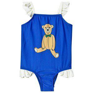 Mini Rodini Teddybear Wing Swimsuit Blue