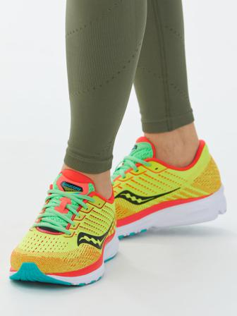 ARKET - Women's Saucony Ride 13 Running Shoes - Yellow - Size 38